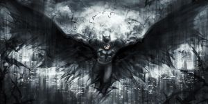 The Dark Knight by jasric