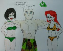 Race, Jade and Estella by JQroxks21