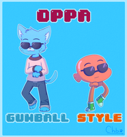 OPPA GUMBALL STYLE! by Sunnynoga