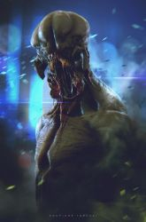 monster concept by CGSoufiane