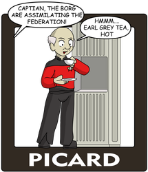 The Captains, Picard by CDRudd