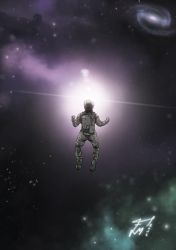 The cosmonaut by MF1989