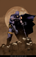 Dark Knight by comic-eeb