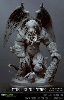 Martin Canale Cthulhu Sculpt by TentaclesandTeeth