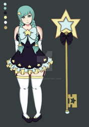 CLOSED Magical Girl - Set Price by Blibs1991