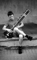 The Sitarist by Helkathon
