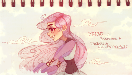 Arista: Young and Innocence by ZARINAABZALILOVA