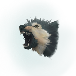 Angry Wolf by marilu597