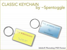 Classic Keychain by spentoggle