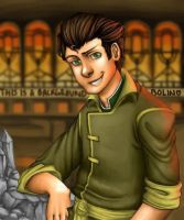 This world needs more Bolin fanart. by yourcommonmuggle
