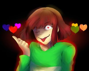 [UNDERTALE] Chara by Maxx2DXtreame
