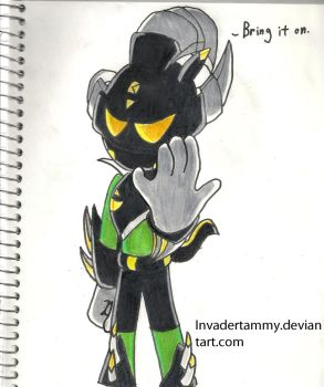 Un-named Nocturnus by InvaderTammy