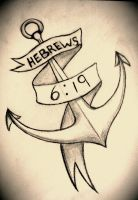 Hebrews 6:9 Anchor by JenJen83