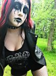 Black Metal Girl by saraskywalker