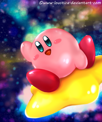 Kirby and the Amazing Mirrors by Loustica