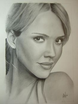 Jessica Alba by Dustboy76