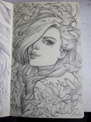 Moleskine 4 sketch by Sabinerich