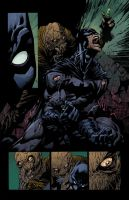 Batman Dark Knight Scarecrow Finch And Friend  by SpicerColor