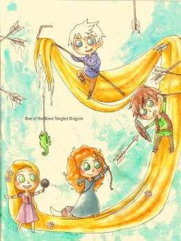 Rise of the Brave Tangled Dragons by OutskirtsOfInsanity