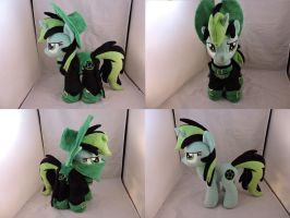 MLP OC Nitro Plush (commission) by Little-Broy-Peep