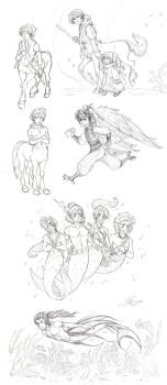 Sketch dump 2011 by Lizzy23