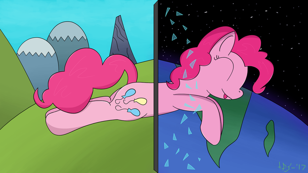 From Equestria To Space... (Beyond the 4th Wall) by TheDarkSatanicorn