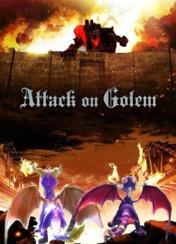 Attack on Golem (version 2) by Daltharion