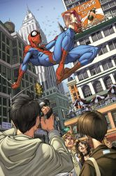Spider-man issue 4 page 1 by diablo2003