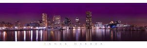 Inner Harbor - Baltimore City by woobiee