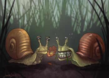 Gastropods Passion by Josiahj