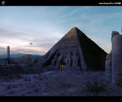 Mattepaint: City of Gods by inetgrafx