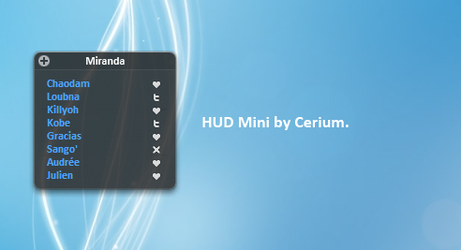 HUD Mini by cerium50