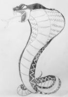Cobra Sketch by dwaters220