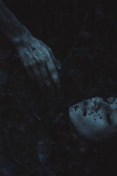 Her grave was cold and dark by NataliaDrepina