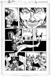 Catch me page 5 inked by Hawkmac