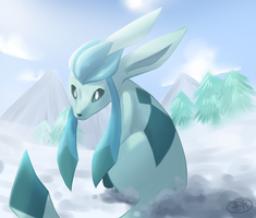RQ: Glaceon by yassui