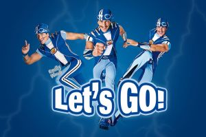 Sportacus Lets go by emillywood