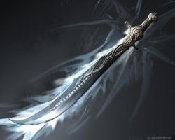 Prince of Persia: sword by Skipina