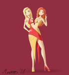 Conjoined Dress(es) by Mawnoos