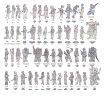 Uniforms of the EIL, DSC and EAN by Shabazik