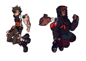 [Adopt] [one-off] urban fighters [CLOSED] by junijwi