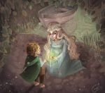 Samwise and the Mallorn Seed by beespit