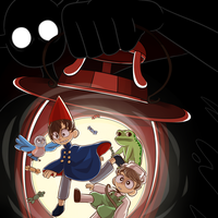 Over The Garden Wall [+ Speedpaint Video] by UndeadSolaris