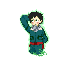 Midoriya Boku No Hero Academia by sweat-artist-2017