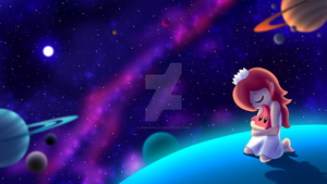 All Alone But Together - Super Mario Galaxy by JIMENOPOLIX