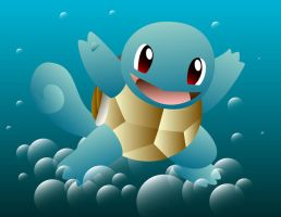 Squirtle by JJFryGraphicARTS
