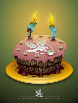 Zombie Cake By Atomhawk On DeviantArt