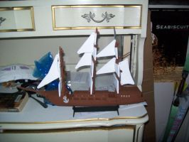 Pirate Ship Completed 1 by Midorii-kiri