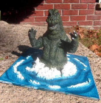 custom ocean Godzilla by TeenTitans4Evr