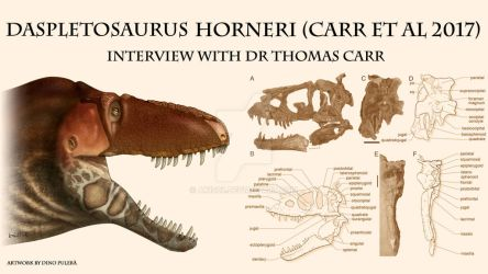 Interview with Dr Thomas Carr! (part 1) LINK BELOW by ak1508